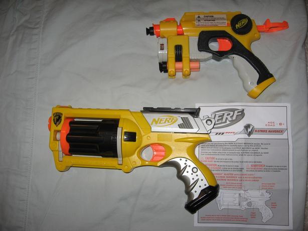 Used Nerf Nite Finder Blaster