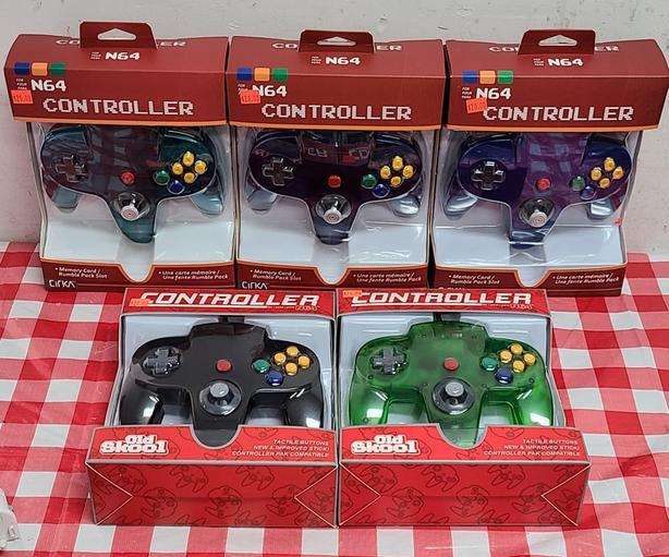 Third Party N64 Controllers