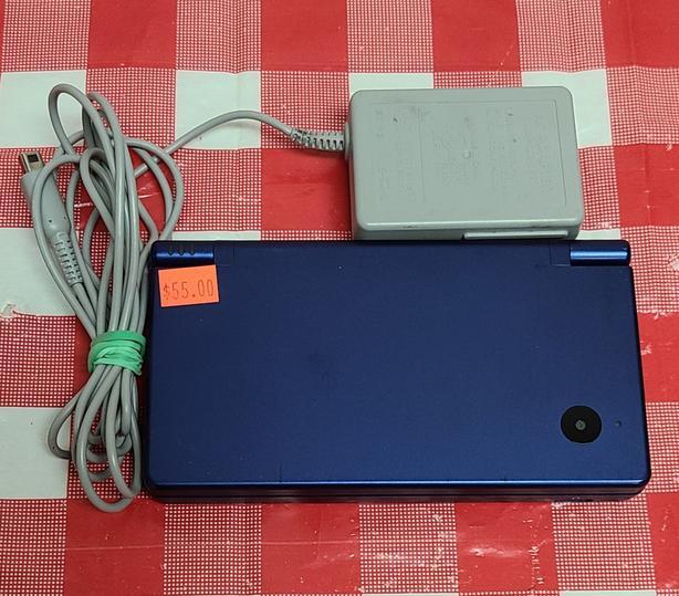 Metallic Blue Nintendo DSi Console