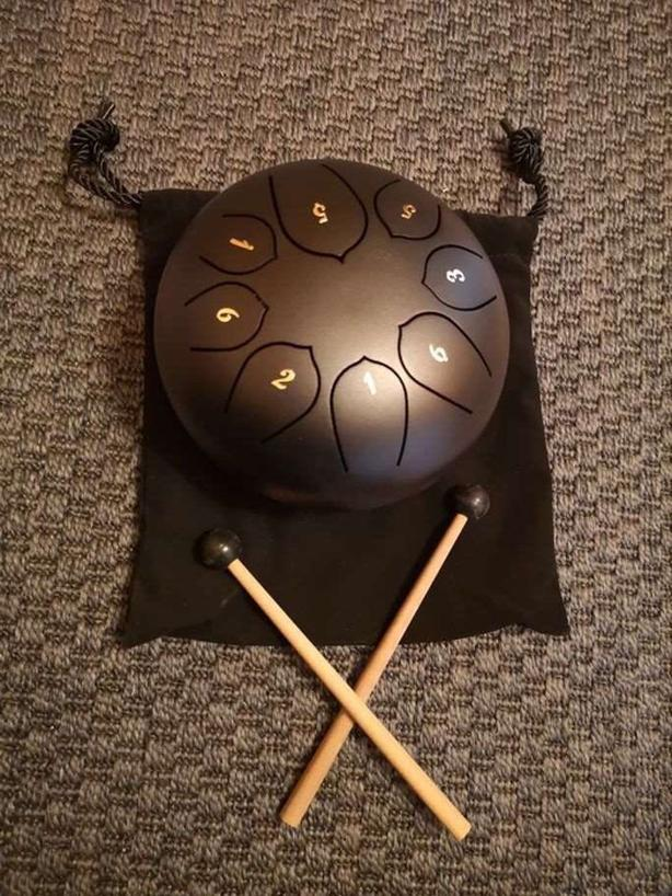"6"" Steel Tongue Drums - $68 Free Shipping"
