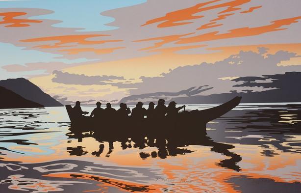 KITASOO DAWN by Roy Henry Vickers