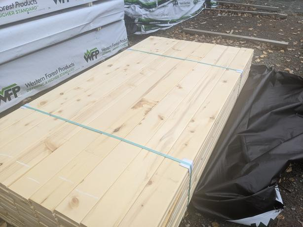 Yellow Cedar 5/4 x 6 ***BLOW OUT FENCING***