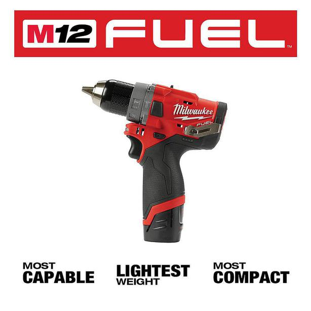 New Milwaukee M12 Hammer Drill with case.