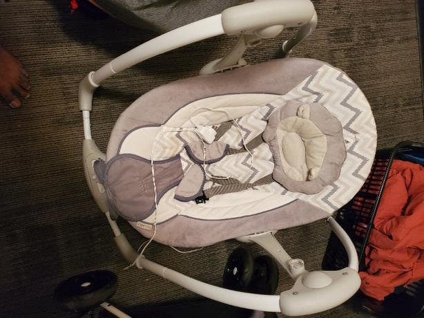 Baby swing electric