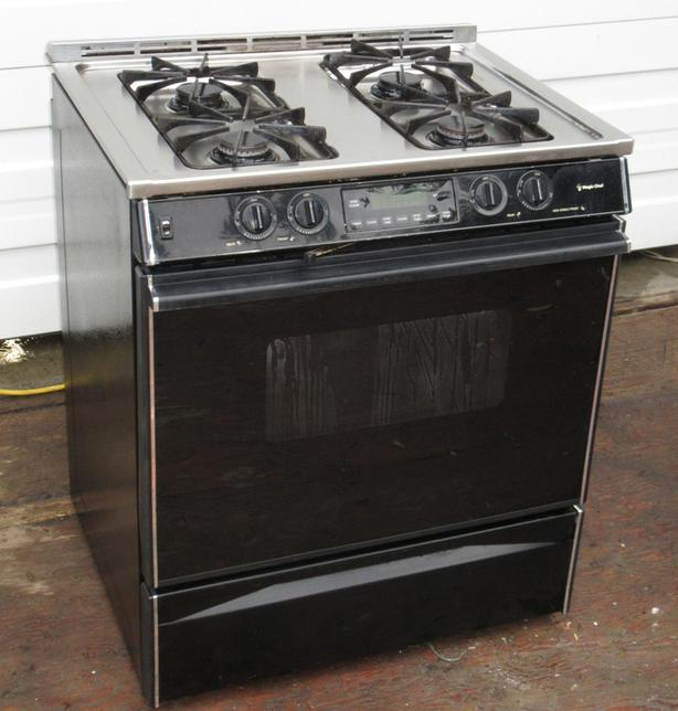 Maytag Gas Stove - Stainless Steel, Self-clean
