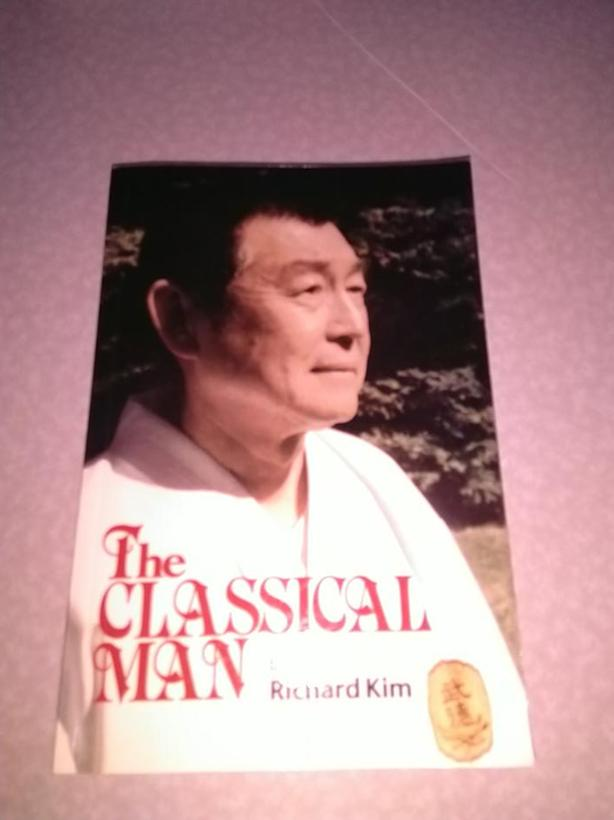 The Classical Man Softcover Book Richard Kim Karate Martial Arts Black Belt