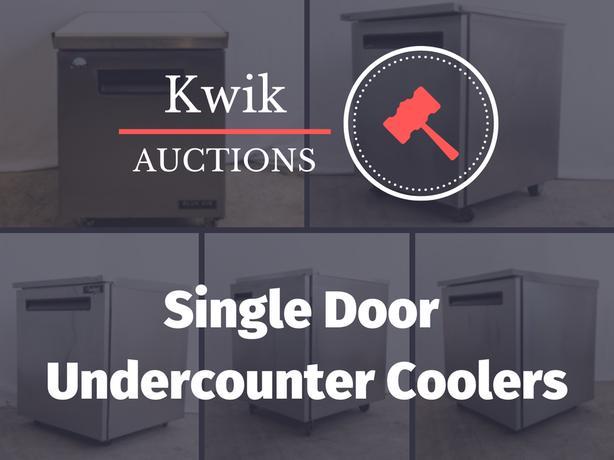 Single Door Undercounter Coolers