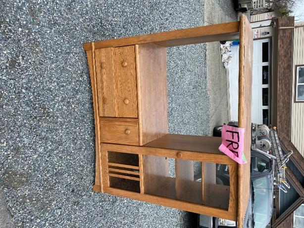 FOR TRADE: entertainment cabinet