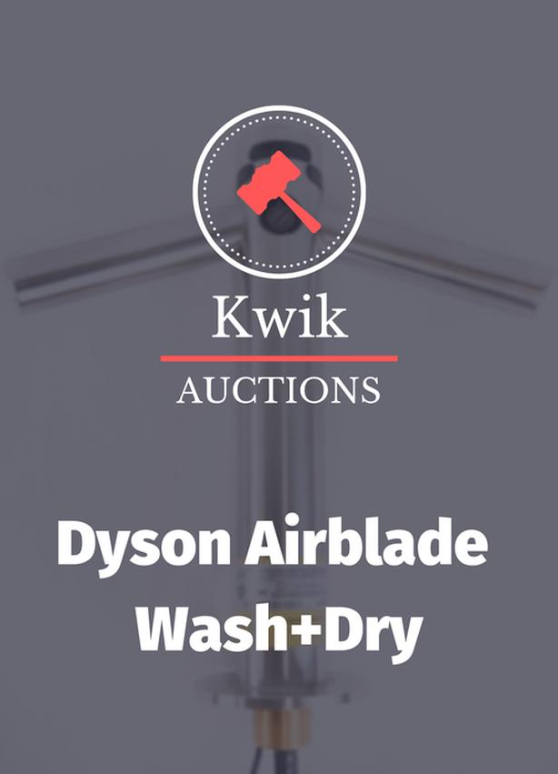 Dyson Wash+Dry Faucet Hand Dryers