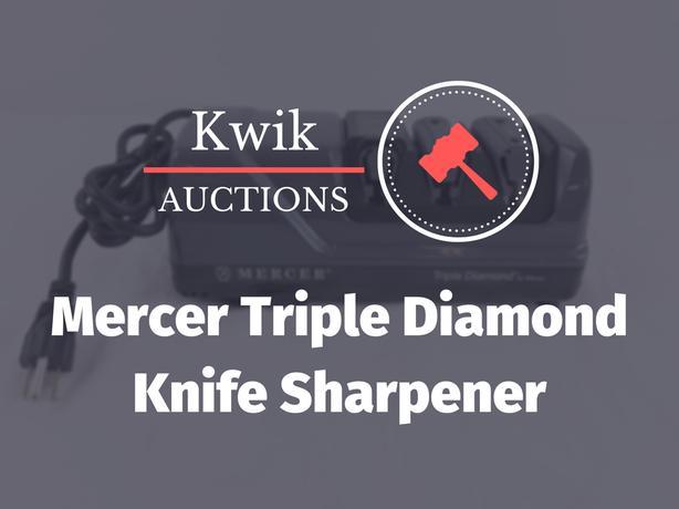 Triple Stage Diamond Knife Sharpener Mercer M10000