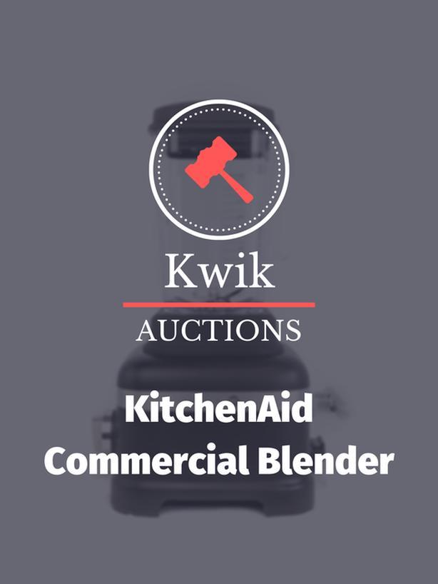 KitchenAid Commercial Blender KSBC1B0BM