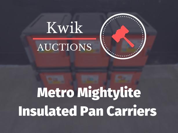 Metro Mightylite Insulated Front-Load Pan Carriers
