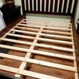 Mattress including bedframe