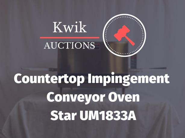Countertop Impingement Conveyor Oven - Star UM1833A Ultra-Max