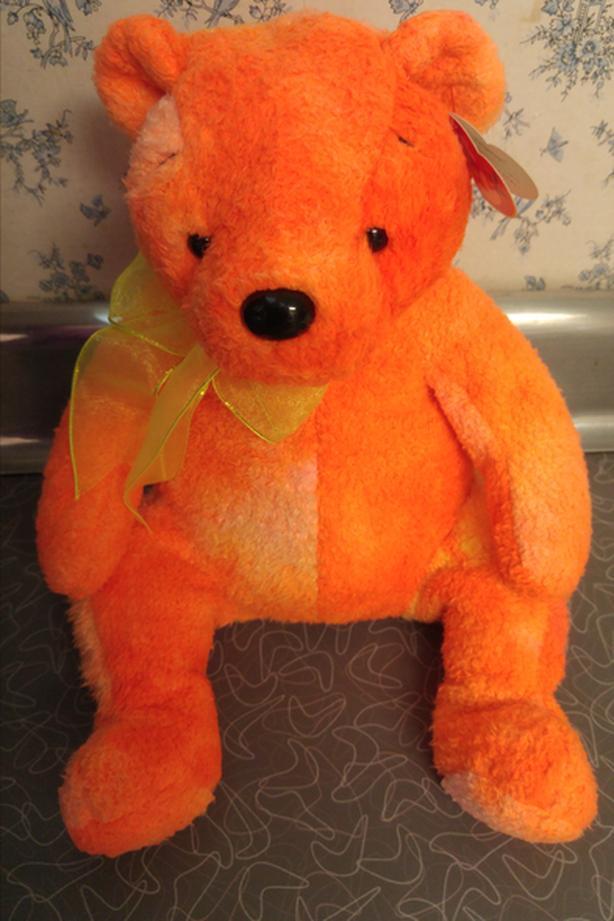 "12"" Beanie Buddy - Tangerine"