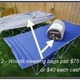 Camping Items good condition