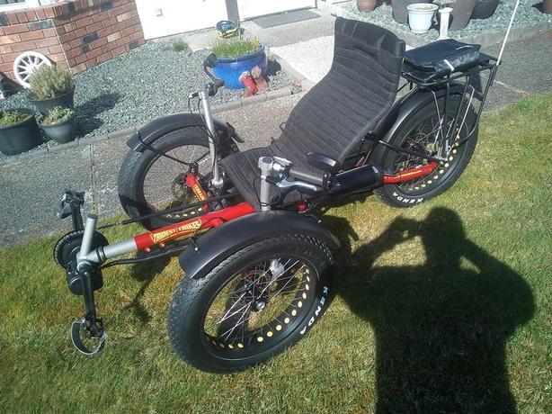 Trident Terrain Fat Trike