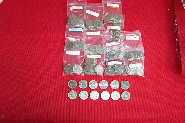 123 Canadian Dollar Coins