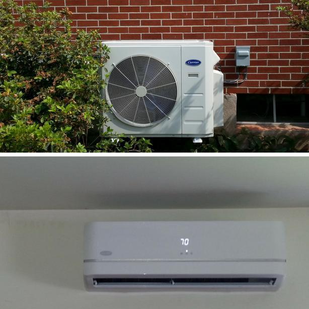 Ductless Heat Pump Installation