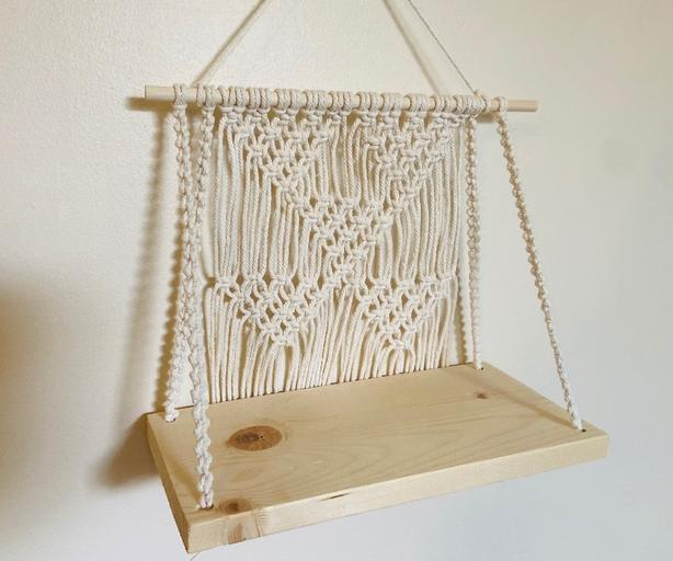 Macrame Shelf