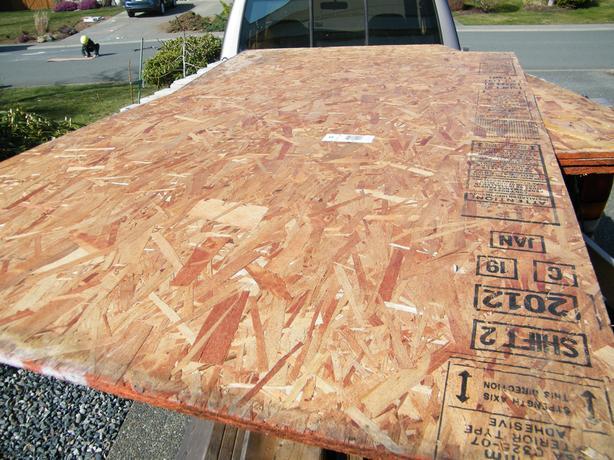 Used Lumber, OSB, Hardi Plank