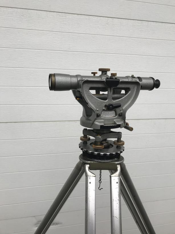 Antique K & E Keuffell & Esser optical jig transit level scope NP 5155
