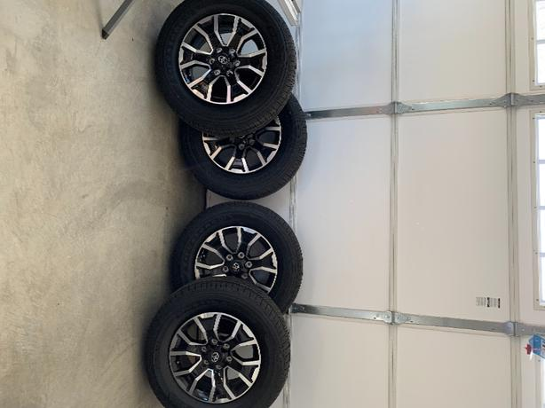Tacoma Rims and Tires