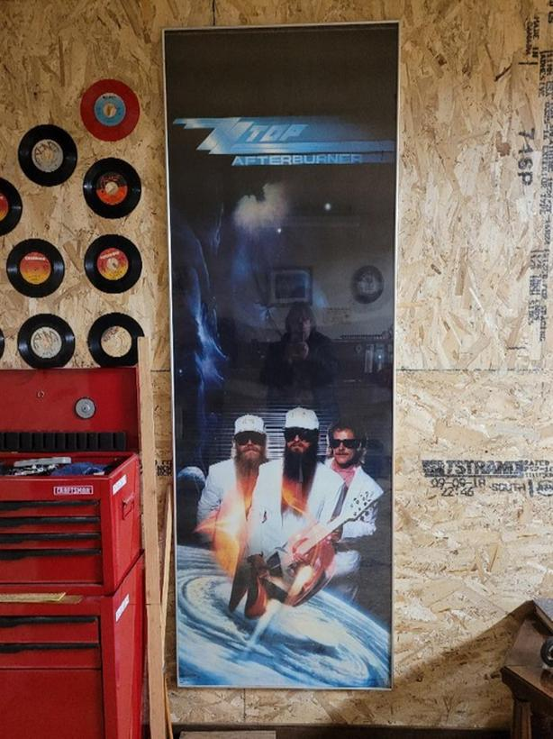 ZZ Top poster for Man Cave