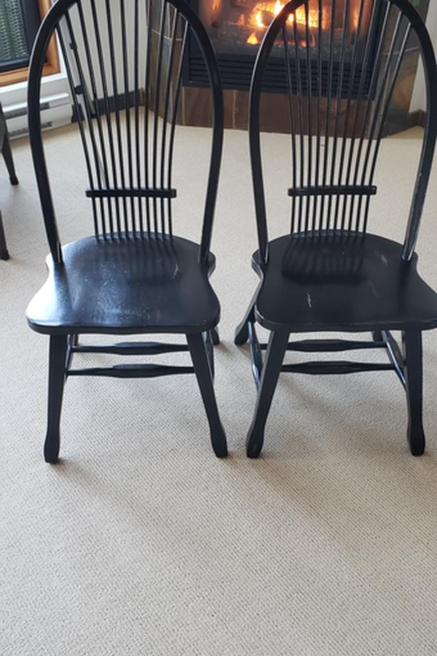 2x Well Made Dining Chairs