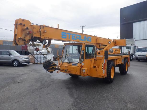 2000 Terex Commercial Crane CD118 Diesel