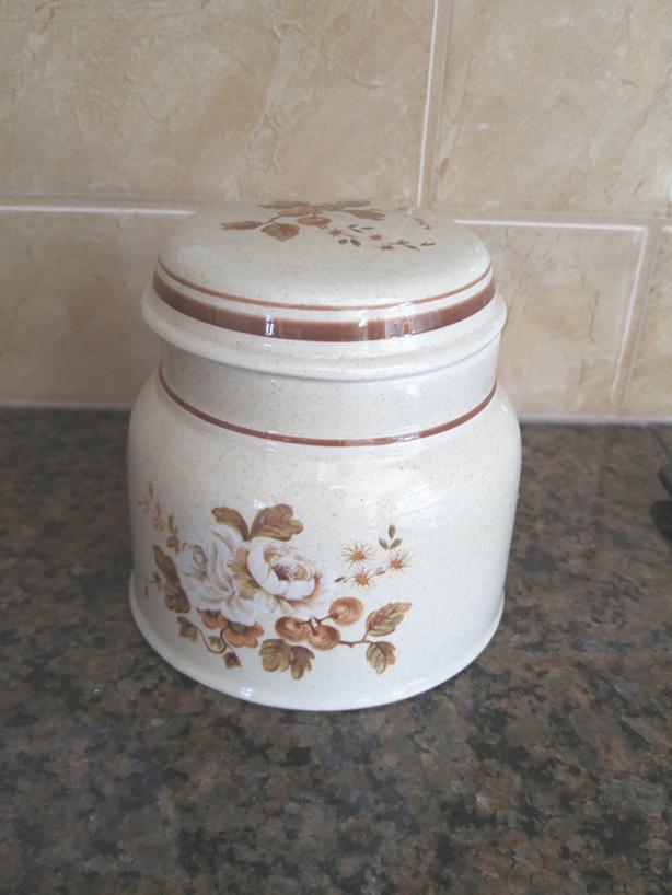 Royal Doulton Lambethware sugar bowl