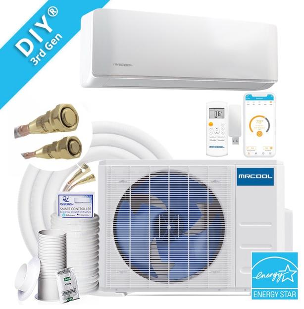 INSTALL YOURSELF Ductless Heat Pump DIY