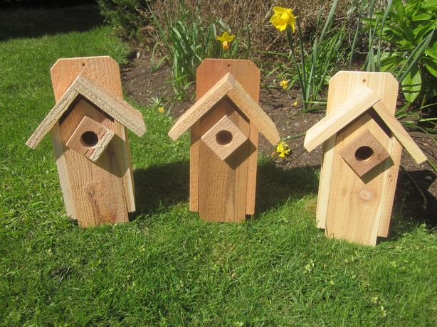 Birdhouse/Nesting Boxes, beautifully handcrafted
