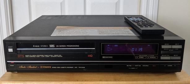 Fisher FVH-C5400 4-Head Stereo VHS VCR