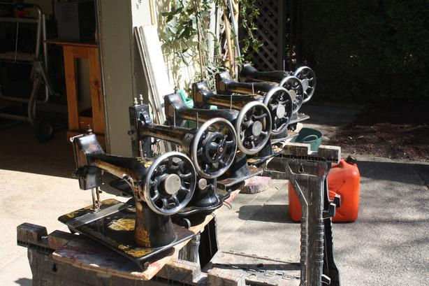 Collection of Singer Sewing Machines