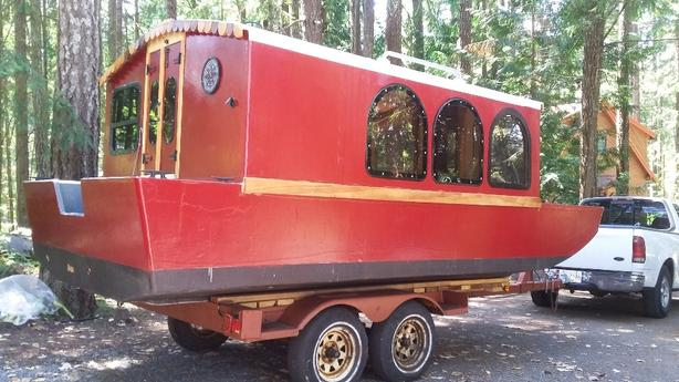 17' Tiny House boat