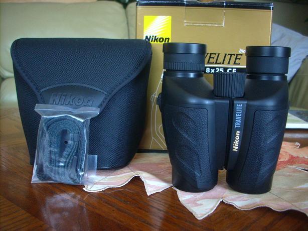 New Nikon Travelite VI 8X25 Binoculars