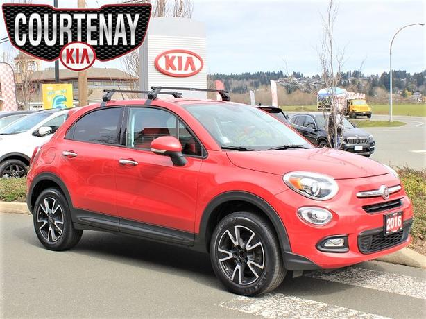 2016 FIAT 500X Sport w/Only One Owner AWD - Red