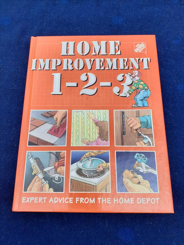 HOME DEPOT 1 2 3 DIY BOOK INSTRUCTIONS MANUAL EXPERT ADVICE