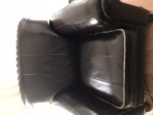 FREE:  Still available LARGE faux leather arm chair