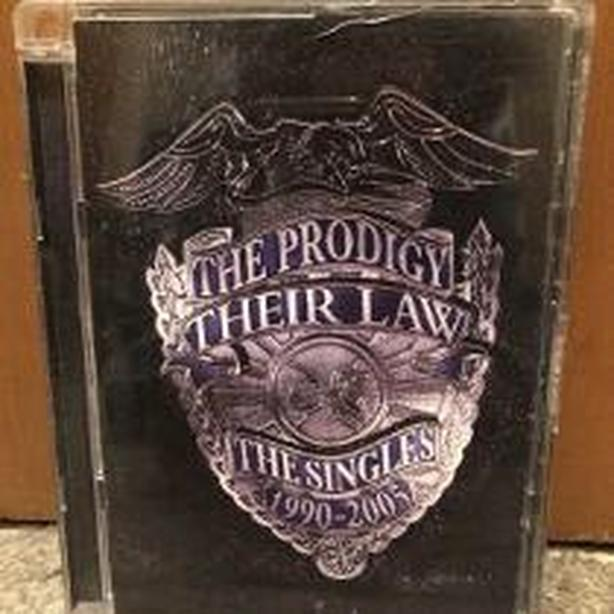 DVD The Prodigy Their Law The Singles (1990-2005)