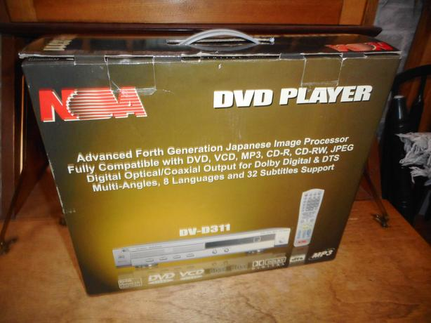 New in the Box DVD Player