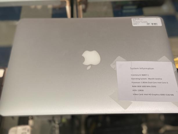"Apple Mac Book Air laptop 2017 13"""