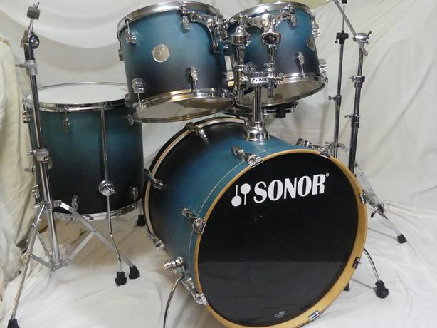 SONOR FORCE 2005 ALL BIRCH SHELL DRUM SET