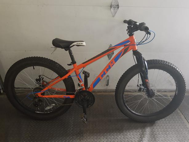 "Two CCM 24"" Trailhead bikes"