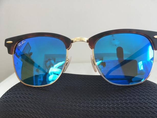 RayBan Clubmaster Flash Sunglasses