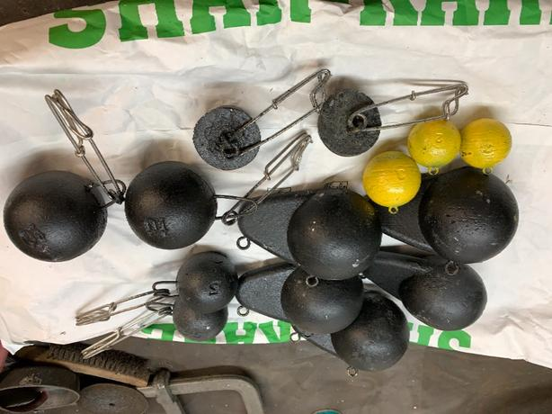 assorted cannon balls