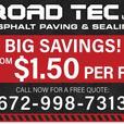 ROAD TEC LTD RECYCLED ASPHALT PAVING AND SEALING