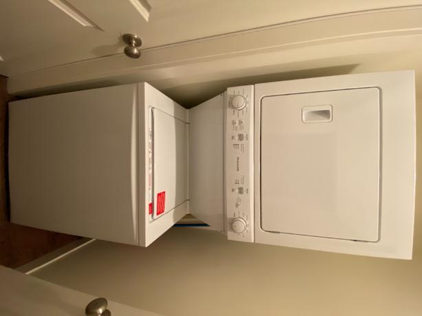 slighty used stackable washer & dryer for sale