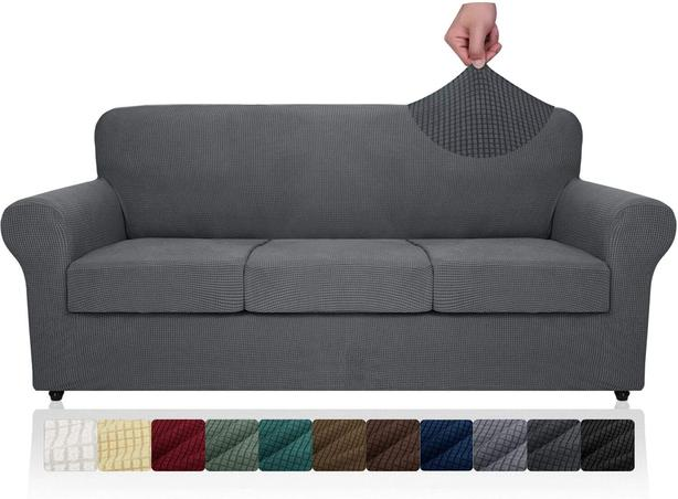 NEW and UNUSED grey couch cover